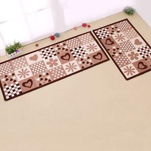 Tapete Passadeira 40Cm X 1,20M De Cozinha Antiderrapante Colori Patchwork - Bene Casa