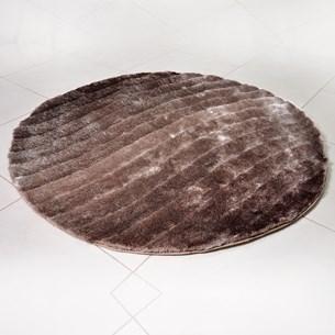 Tapete Shaggy 3D 1,50M Redondo Para Salas E Quartos Fendi Waves - Tessi
