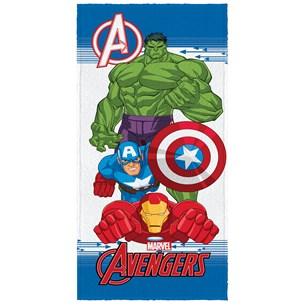 Toalha De Banho Infantil 60Cm X 1,20M Avengers Sortido - Licenciada