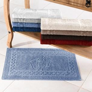 Toalha De Piso 100% Algodão Azul Provence - Bene Casa