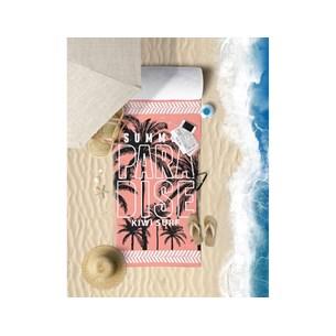 Toalha De Praia Estampada Microfibra Anti Areia Paradise - Panosul