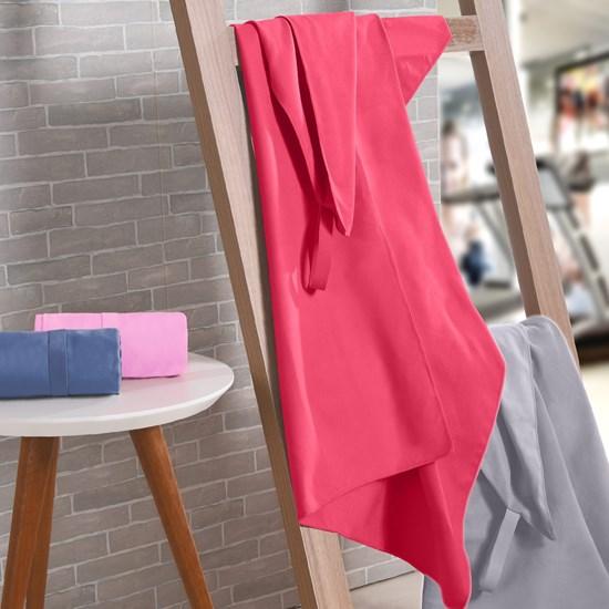 Toalha Esportiva Finess Alta Absorção Pink - Bene Casa