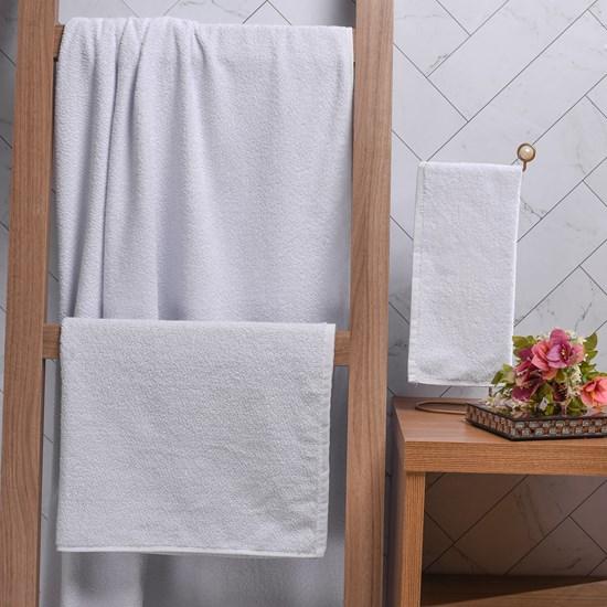 Toalhas Profissionais Hotelaria Banhão 88Cm X 1,47M Super Resistentes E Macias Branco - Bene Casa