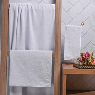 Toalhas Profissionais Hotelaria Lavabo 28Cm X 31Cm Super Resistentes E Macias Branco - Bene Casa